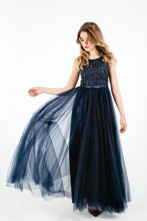 Вечернее платье Blue Space